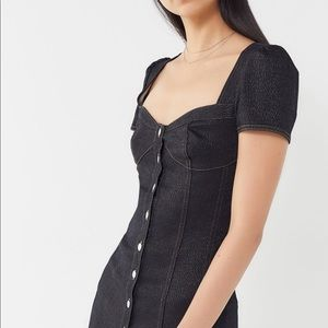 Urban Outfitters Corset front button mini dress ✨
